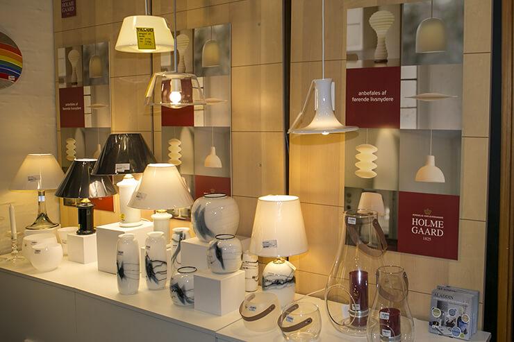 Holmegaard Lampen und Hängelampen
