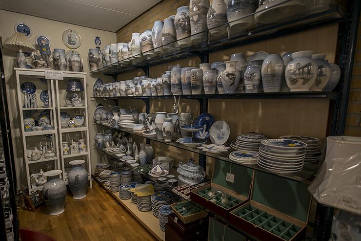 Royal Copenhagen og Bing & Grøndahl vaser