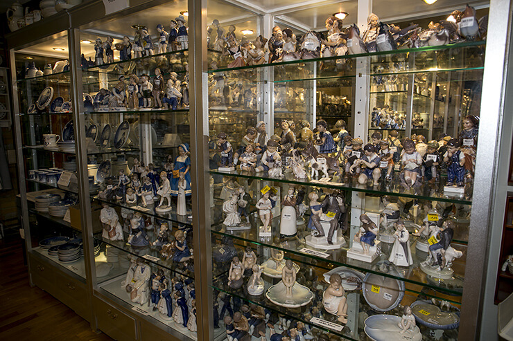 Royal Copenhagen and Bing & Grondahl figurines