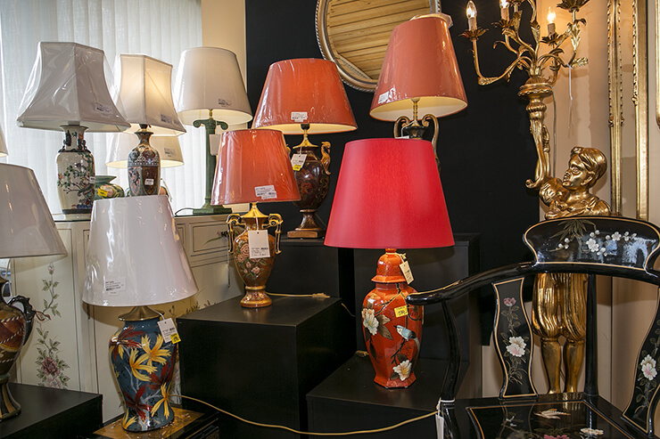 Lamps in chinese style