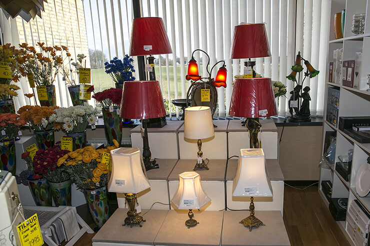 Tablelamps and lampshades