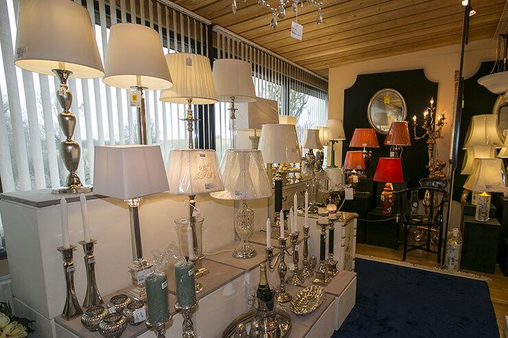 Tablelamps in metal