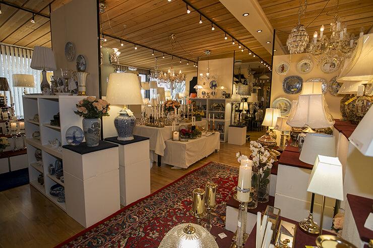 Die Ausstellung im Laden