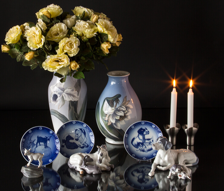 Royal Copenhagen mother's day plates