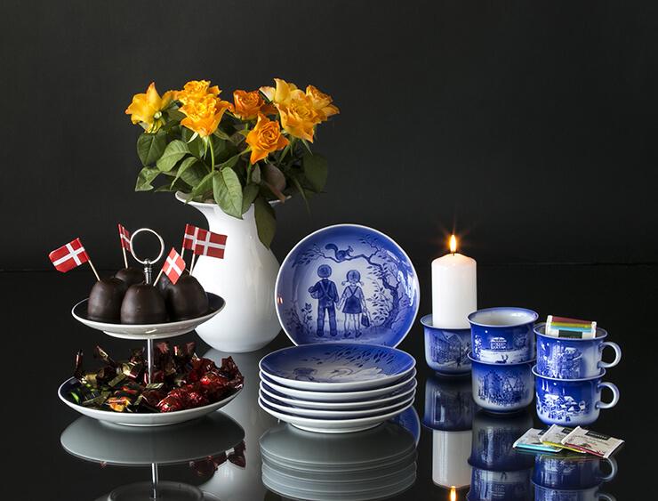 Desiree Hans Christian Andersen dinnerware