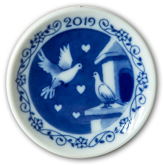 Royal Copenhagen Christmas Plaquette 2019
