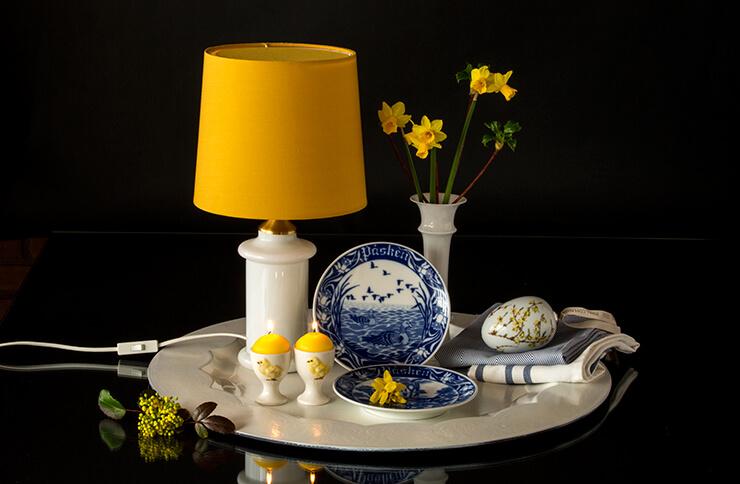 Porsgrund Easter plates
