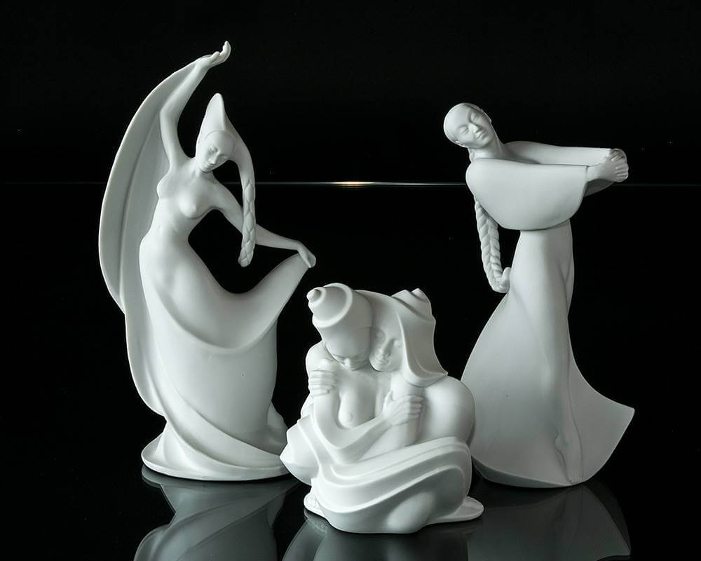 Royal Copenhagen Emotions figurines