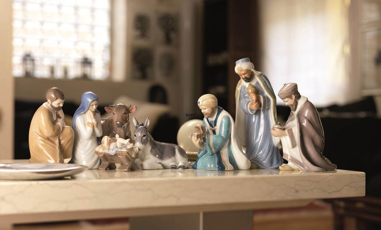 Royal Copenhagen Nativity scene