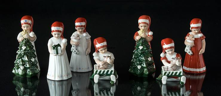 Royal Copenhagen Else Christmas figurines