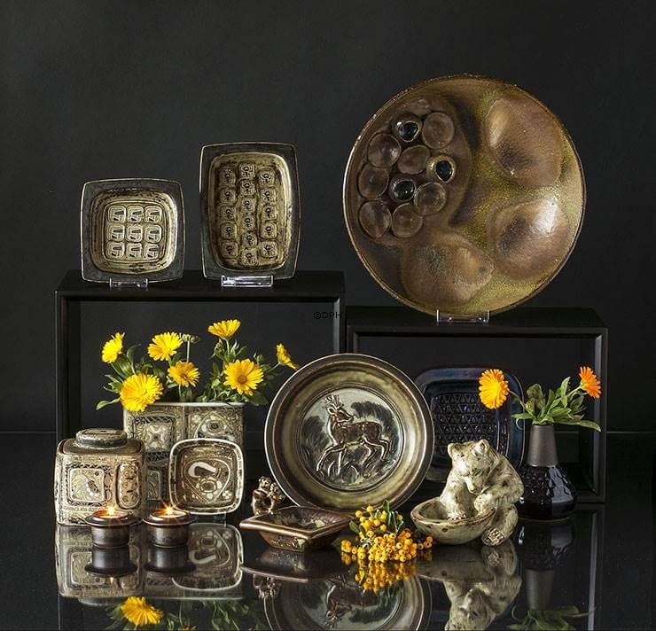 Stoneware and Faience vases Royal Copenhagen